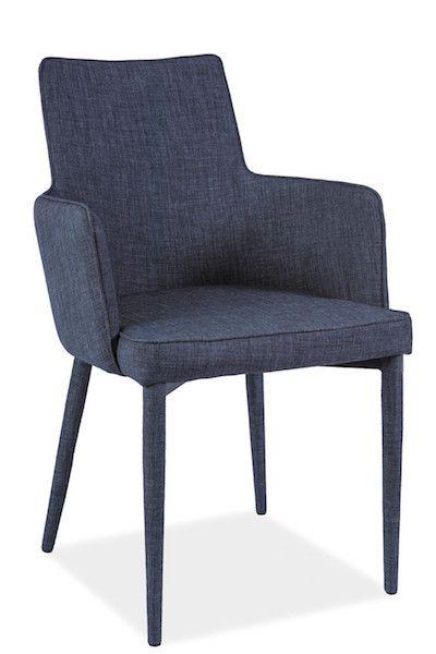 Scaunul din metal tapitat Semir redfineste confortul! Descopera textura catifelata si designul unic pe www.somproduct.ro #inspiring #comfort #SomProduct #blue #velvet #texture