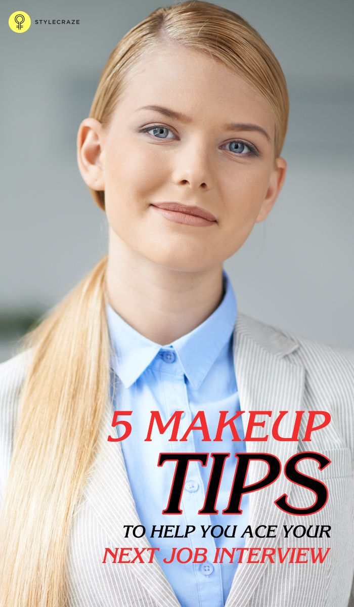 Here is a complete how-to on job interview makeup. To know more, keep reading!  #makeup
