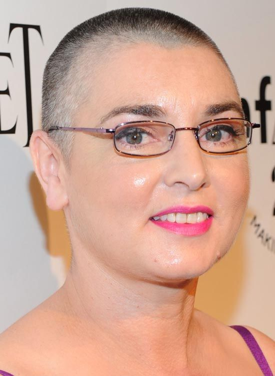 Bald Hairstyles - Buzz Cut Hairstyle by Sinead Oconnor