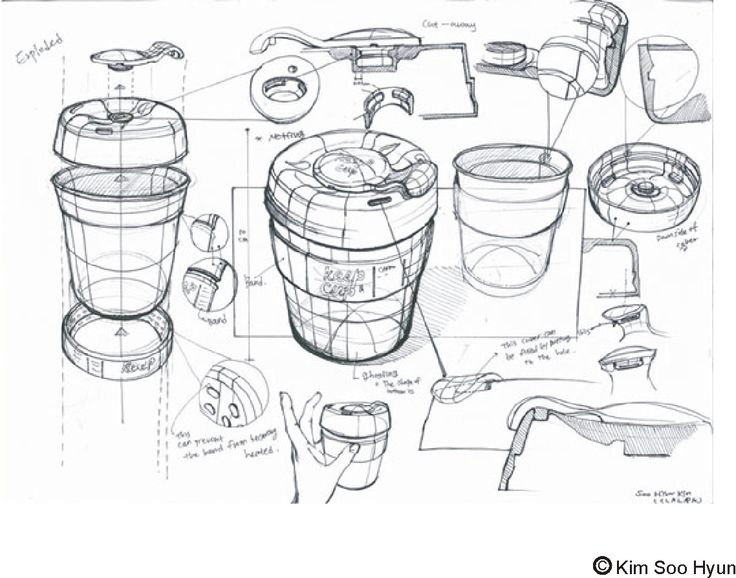 drawon: Keep cup sketch lesson