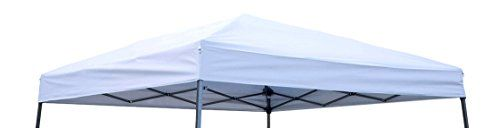 Trademark Innovations Square Replacement Canopy Gazebo Top for 10 Slant Leg Canopy 8 by 8 White * Check out this great product.