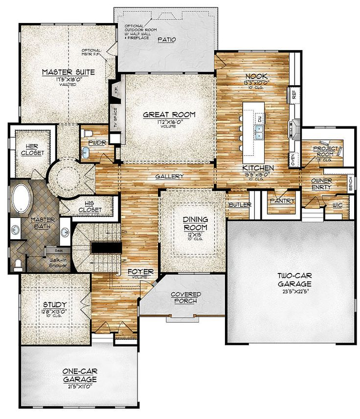 1724 best images about dream homes on pinterest for House plans with safe rooms