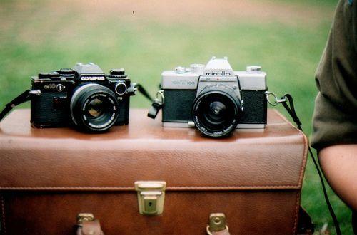 camera, vintage