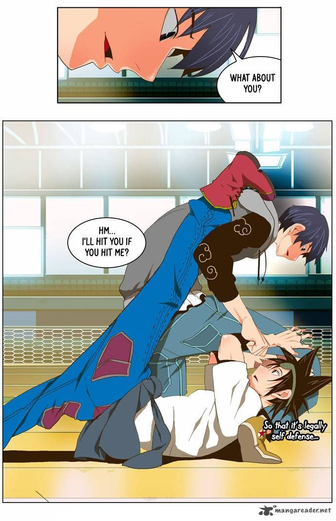 Pose and Fabric The God of High School 59 Page 19