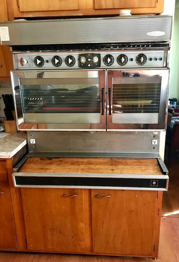 Tappan Electric Vintage Wall Oven Stainless Steel With Etsy Stainless Steel Oven Wall Oven Vintage Walls