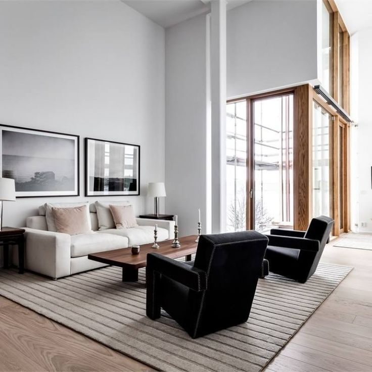 51 Modern Minimalist Living Room Decor Ideas With Images