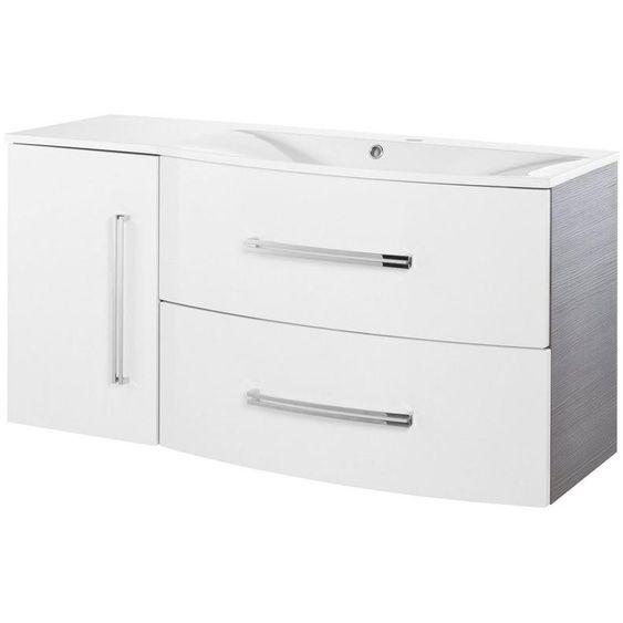 Fackelmann Waschtisch Lugano Breite 115 Cm 2 Tlg In 2020 Filing Cabinet Storage Decor