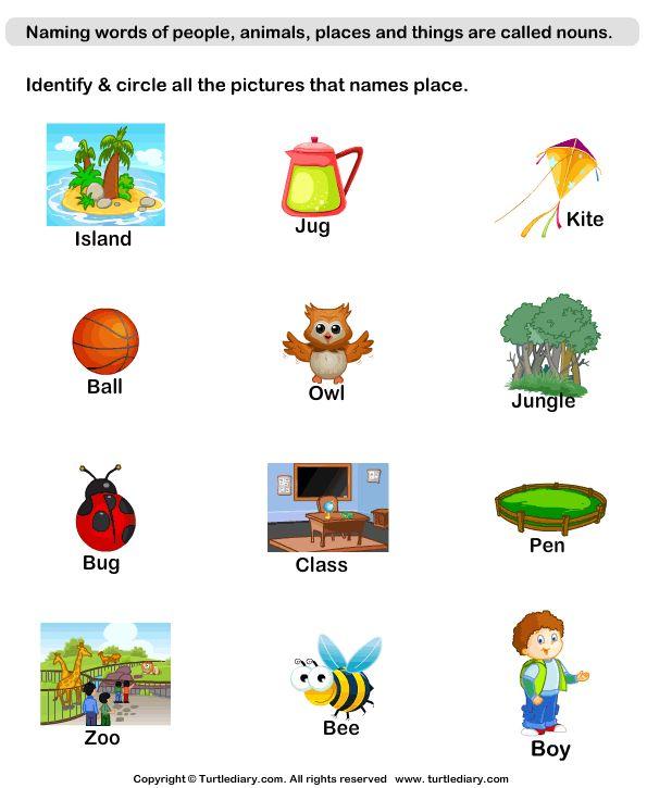 grammar worksheets worksheets for kids kindergarten worksheets ...