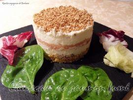 Cheesecake au saumon fumé à faire avec empilo