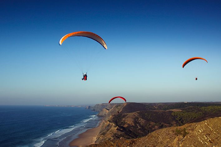 Aljezur - Algarve - Portugal* Great to be up there shame about the head for heights