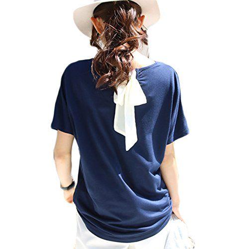 背中リボンカットソー Tシャツ レディーストップス UVカット 紫外線カット (オフホワイト) ノーブランド https://www.amazon.co.jp/dp/B07149SMJR/ref=cm_sw_r_pi_dp_x_A7QHzbEK9MCD7