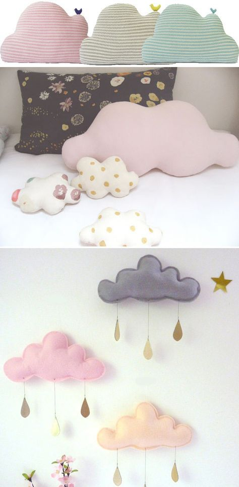 Cute DIY Cloud Cushions