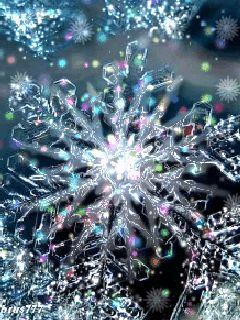 Snowflake GIF via decentscraps #GIF #Snowflake
