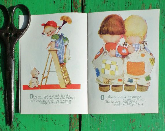 For Today by Mabel Lucie Attwell Golden Thoughts Booklet