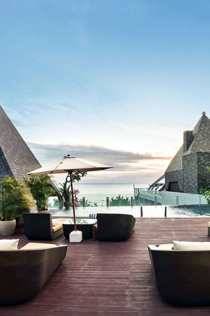 Riva's Roof Top Bar is the perfect place to sip sundowners after a day on the beach. #Jetsetter The Kuta Beach Heritage Hotel (Bali, Indonesia)