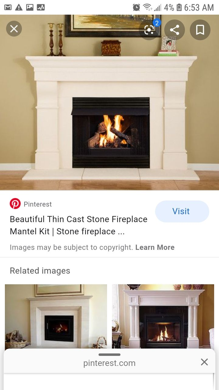 20+ Stone fireplace surround kit ideas in 20   LivingRoomReference