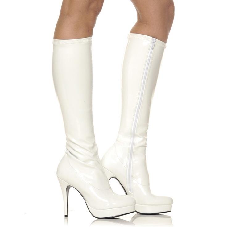 Sluts in high heel boot