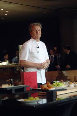 Gordon Ramsey in Las Vegas at Gordon Ramsey Steakhouse at Paris Las Vegas-Reservations for July 29. 2012!!!!! Can't wait!!!!!!!!