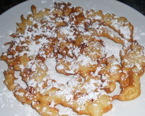The BEST State Fair Funnel Cake Recipe With a List Of Easy Instructions