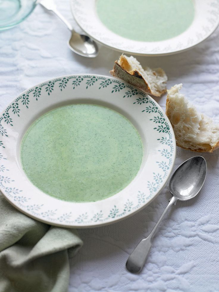 Get wild and stir up a bowl of this garlic soup.