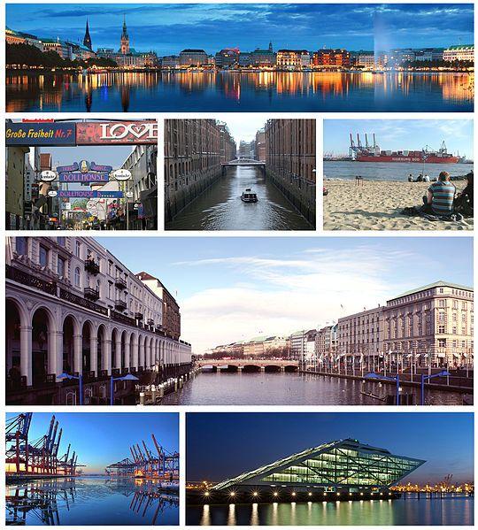 Hamburg Germany   Hamburg—Germany's second-largest city—is the major landmark for ...