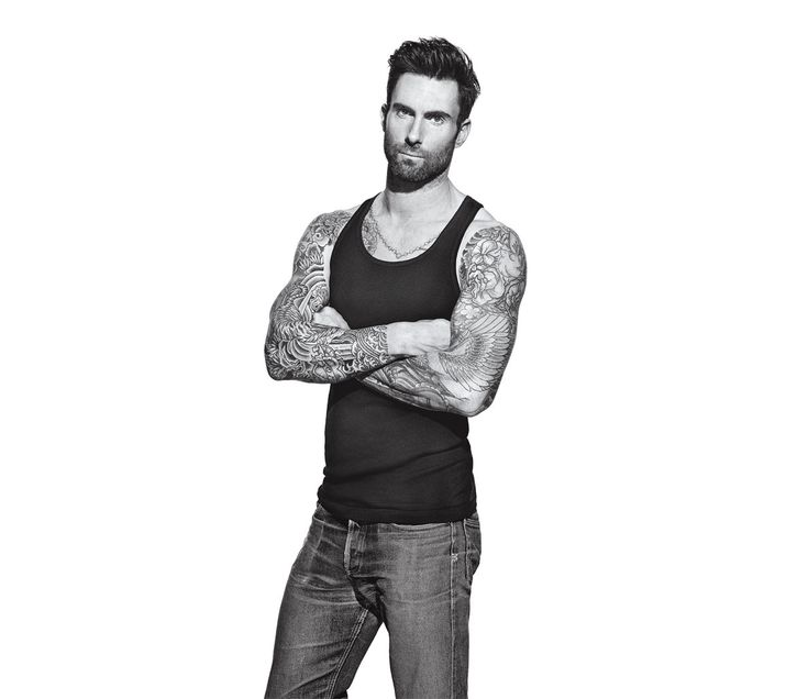 Adam Levine cover of Men's Fitness 2015