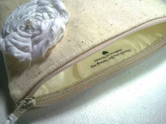 Thank you for Being My Bridesmaid Custom Clutch von GeauxMelange, $3.00