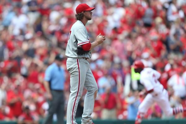 Aaron Nola already had 14 outs before allowing his first hit in the Philadelphia Phillies' 4-0 victory over the Pittsburgh Pirates on…