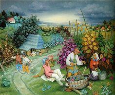 Dorset Trail Nfld | naif su Pinterest | Arte Haitiana, Folk Art e Dipinti Di Arte Popolare