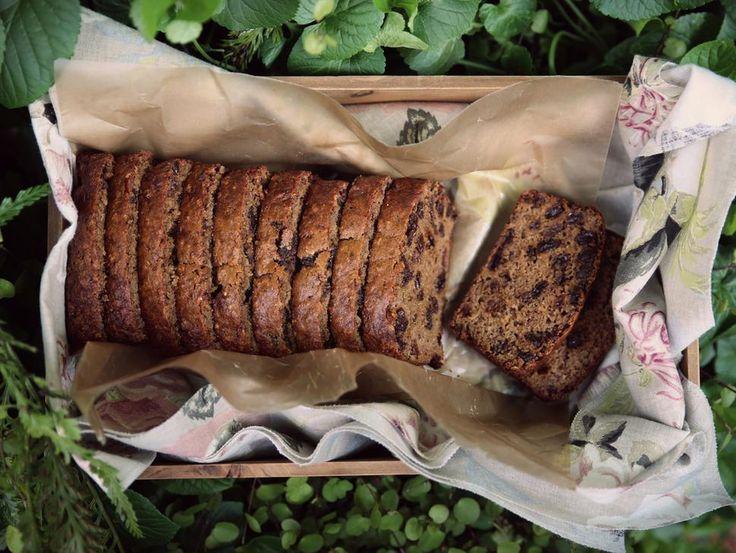 Petite Kitchen's raisin and roobios tea bread recipe - Eleanor Ozich of Petite Kitchen shares her recipe for a delicious tea loaf. Gluten, dairy, refined sugar free