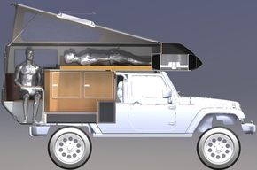 2012 Jeep Wrangler: Action Camper