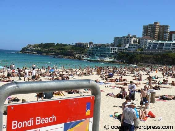 Hello, When it's hot a lot of people head down to the beach to cool off. During the summer months Bondi Beach is very popular. Regards Peter !
