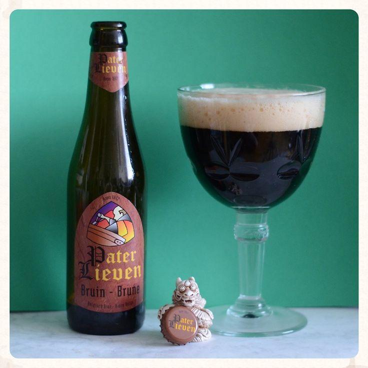 Brouwerij Van Den Bossche - Pater Lieven Bruin  (Ale) 6,5% pullo 1/2 Teron kanssa HBF 8.4.2011