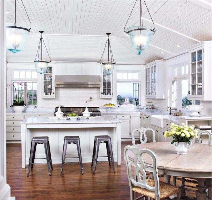 1000 ideas about coastal kitchens on pinterest kitchens house of turquoise and modern coastal - Coastal kitchen design ...