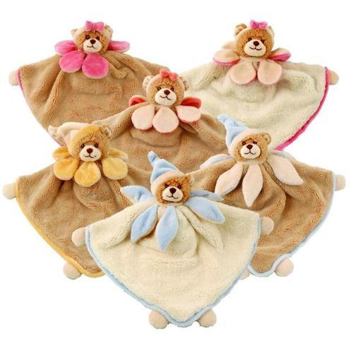 Viggo & Maria Blanketsare cosy little #Teddy Bear #blankets for #babies.