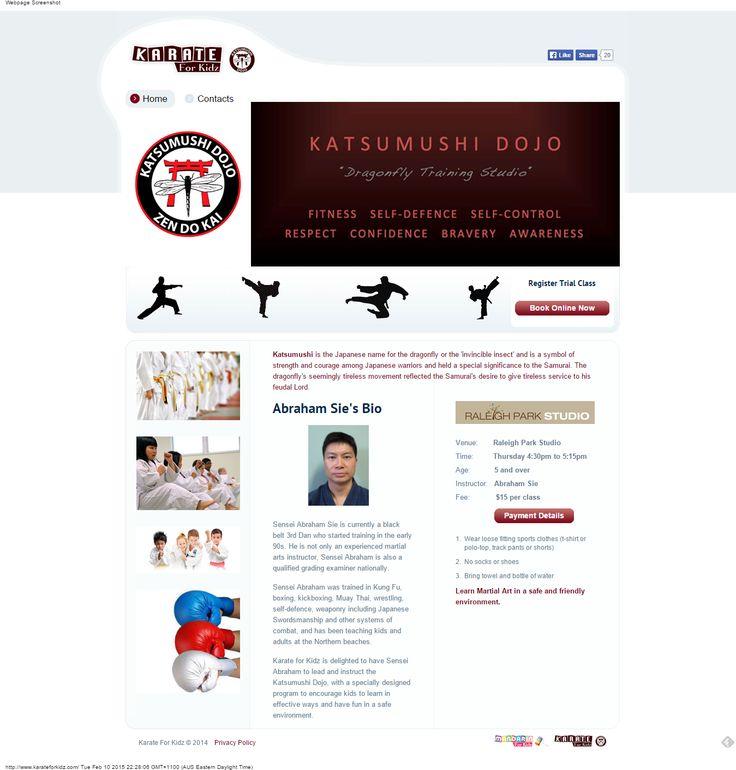 Karate School  - https://ronaldjusuf.wordpress.com/2015/02/10/karate-for-kidz/