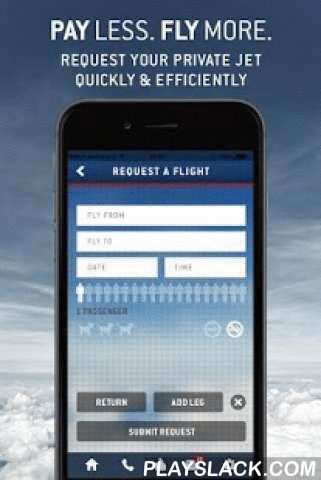"""LunaJets   Private Jet Charter  Android App - playslack.com , What can you do with this app?If you are looking for the best service and prices in private jet travel, this is the """"must have"""" app - no redundant functions.REQUEST FLIGHTS – QUICK & EASY- Request your private jet flights in a very efficient designed environment- Direct access to a selection of 4,800 modern and recent aircraft- Possibility to request a one-way, return or multiple-destination trip- If you want to travel with…"""