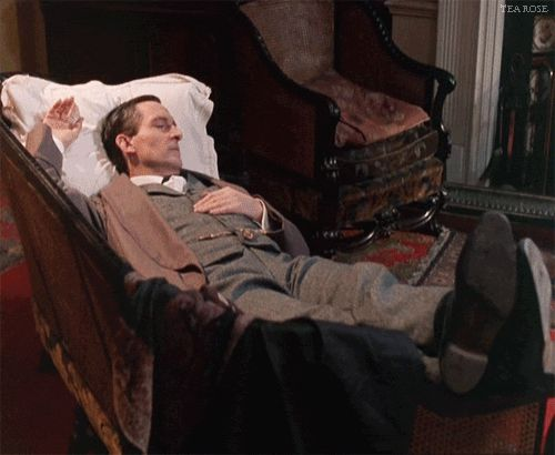 Jeremy Brett moved like a gazelle.  Beautiful.   #sherlockholmes #jeremybrett #granada