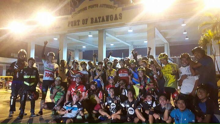Riders on their way to Malay, Aklan gateway to Boracay