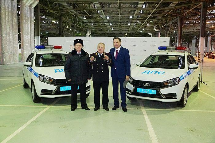 Новая Lada Vesta станет патрульной машиной