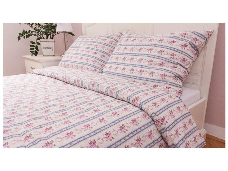 """Bavlněný přehoz na postel MOZART MODRÝ . Krásný romantický bavlněný přehoz, běžně dostupný ve dvou rozměrech, který je možný kombinovat s povlečením ve stejném dekoru a různými tvary polštářků - viz. """"Související produkty"""". Je také možné..."""