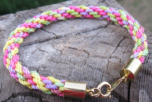 friendship bracelet instructions with wheel