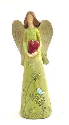 Angel with Heart Figure -