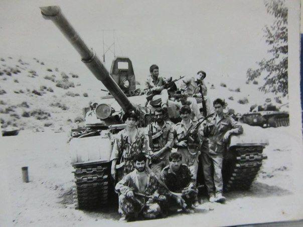 Azerbaijani T-72A Nagorno-Karabakh War.