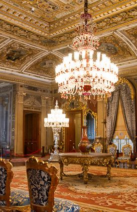 Dolmabahce Palace, Istanbul..