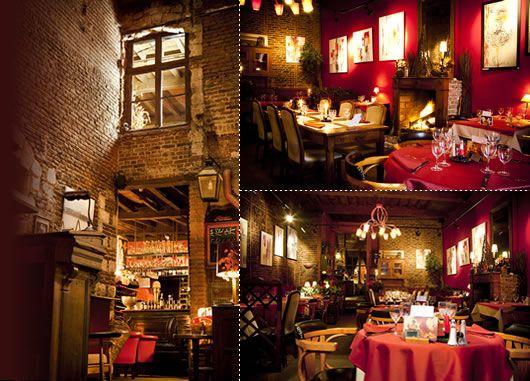 Le restaurant la cave aux fioles scotland belgium 2015 for Restaurant laille 35