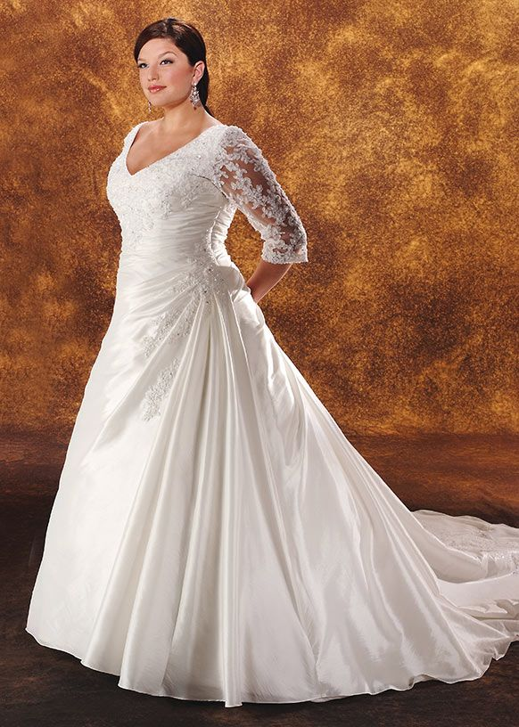 17 best images about plus size bonny bridal on for Bonny plus size wedding dresses