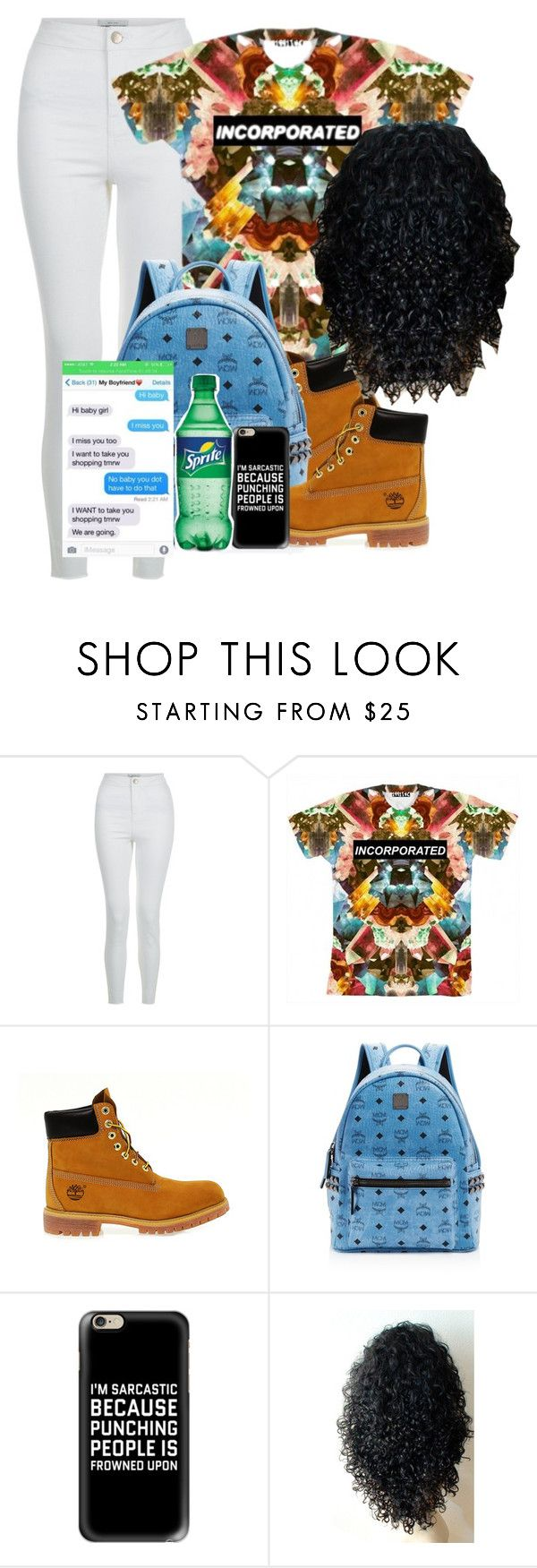 """""""Dope Swag 2016"""" by bxby-girl-rielle ❤ liked on Polyvore featuring New Look, Timberland, MCM and Casetify"""
