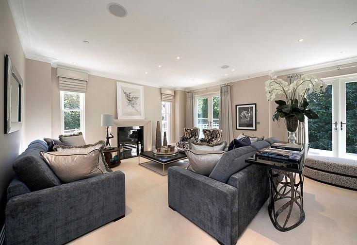 Lounge styling - colour pallette