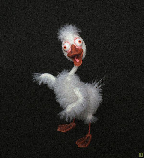 Птенец вайс купить недорого в интернет магазине товаров ручной работы  HandClub.ru  Вязание крючком.Авторская игрушка Размеры рост 13 см, ширина: 2,5 см (голова), 0,5 см (шея),  от 2-4,5 см (тушка)